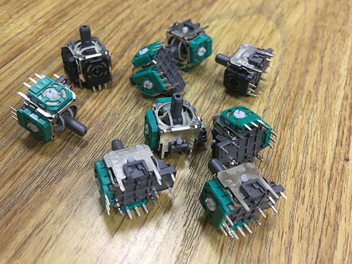 点击放大:3D摇杆电位器,alps摇杆电位器